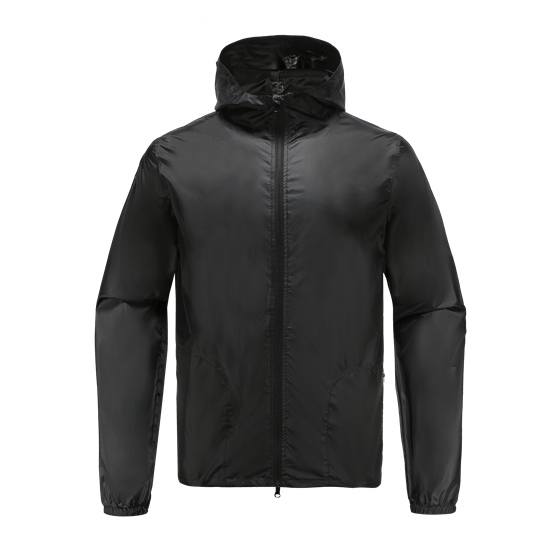 CRITICAL-Recycled Polyester  men's rainjacket