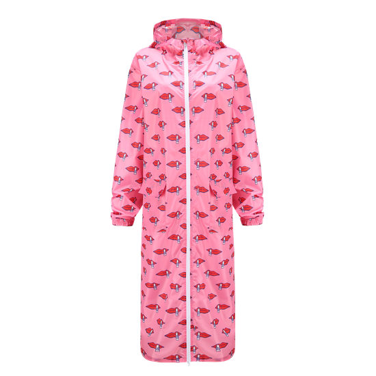 RESPONSIBLE-Recycled Polyester LADIES'LONG BODY RAINCOAT