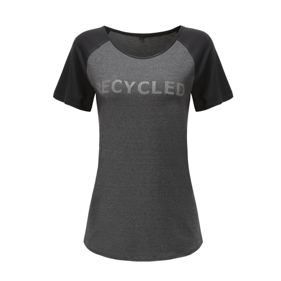 ECO-Recycled WOMEN'S RAGLAN SEAMLESS TEE