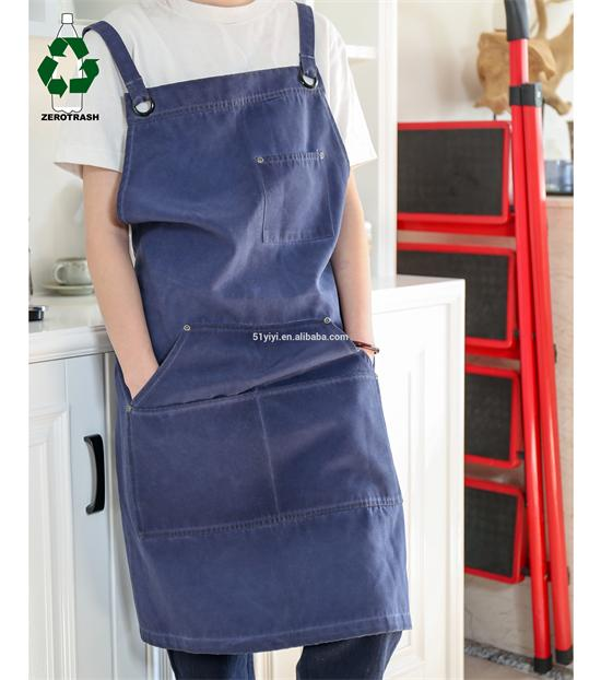 Recycled Apron Rpet Multi-Pockets Tool Apron